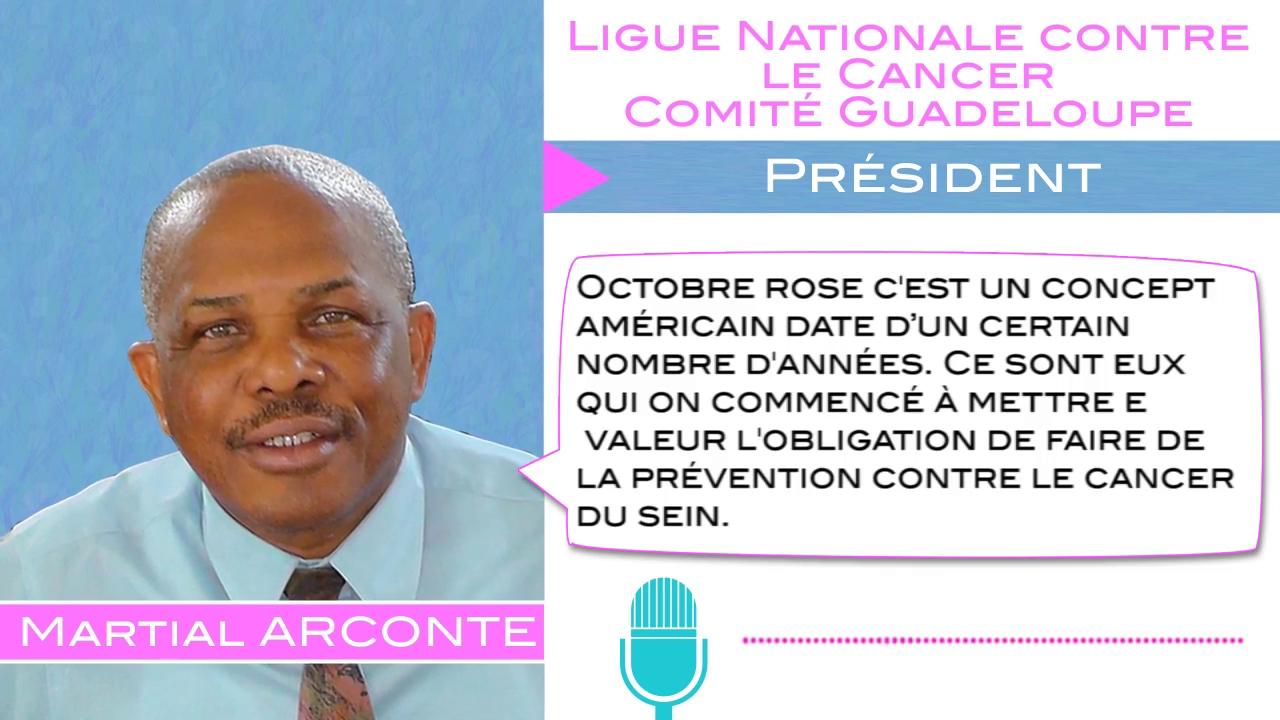 ITWDLS - Ligue Nationale contre le Cancer : Mois d'Octobre Rose - 19 Octobre 2020